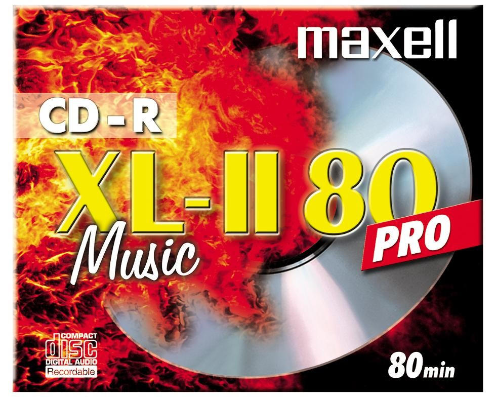 CD-R700MB Music jewel case maxell 10stuks