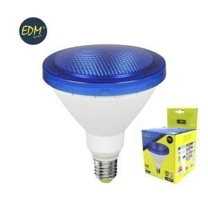 EDM led lamp PAR38 E27 15Watt blauw