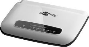 Goobay 93373 ethernet switch 8 Poorts 10/100/1000Mbps