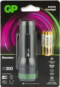 GP Discovery zaklamp C32 incl. 3x AAA