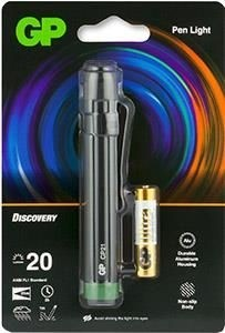 GP Discovery zaklamp penlight CP21 incl. 1x AAA