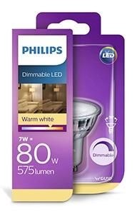 Philips led Spot GU10 230V 7Watt Blister