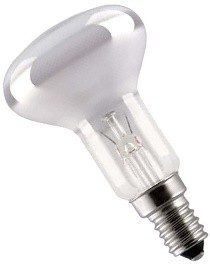 Reflectorlamp R50 25W kleine fitting E14 frosted