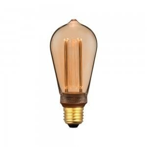 V-tac led filament vintage ST64 E27 extra warm wit 4W