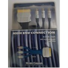 4008928114058 Vivanco high-end kabel H3PS20 3xcinch naar scart
