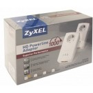 Zyxel powerline passthrough adapter 2-poorts 1000Mbps