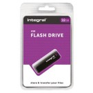 Integral USB 2.0 memory pen 32GB Black