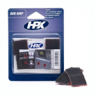 HPX klittenband 25x25mm zwart  duo grip,