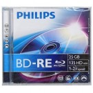 Philips BD-RE Blu-Ray 25GB jewel case