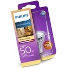 8718696582558 Philips LED lamp GU10 5,5Watt 345Lm dimbaar extra warm licht