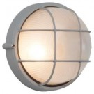 Brilliant bulleye 60 Watt rond titanium IP44 outdoor