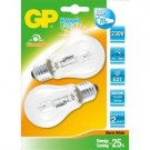 GP halogeen classic E27 ECO 53W DUOPACK,