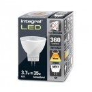 Integral led MR11 GU4 3,7Watt LED Spot 12V 2700K