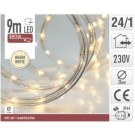Lichtslang 9 meter 24Led warm wit
