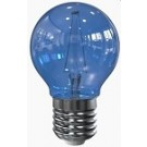 Tronix led filament kogellamp E27 blauw 2 watt